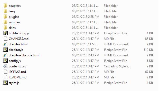Tạo HTML editor và BBCODE editor bằng CKEditor trong C# Winform