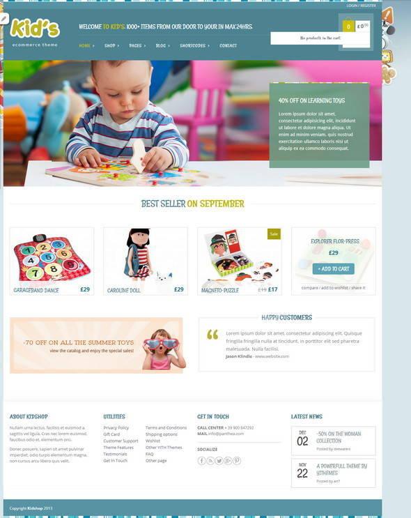 Kidshop – Shop Dành Cho Đồ Trẻ Em