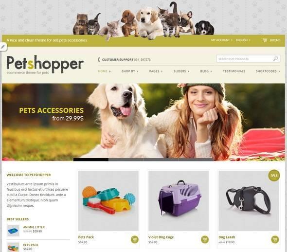 Petshopper – Dành Cho Shop Về Vật Nuôi
