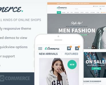 Wordpress theme bán hàng thời trang