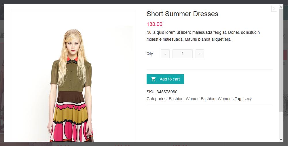 Theme Shop bán hàng thời trang cực đẹp Kute Shop (2)