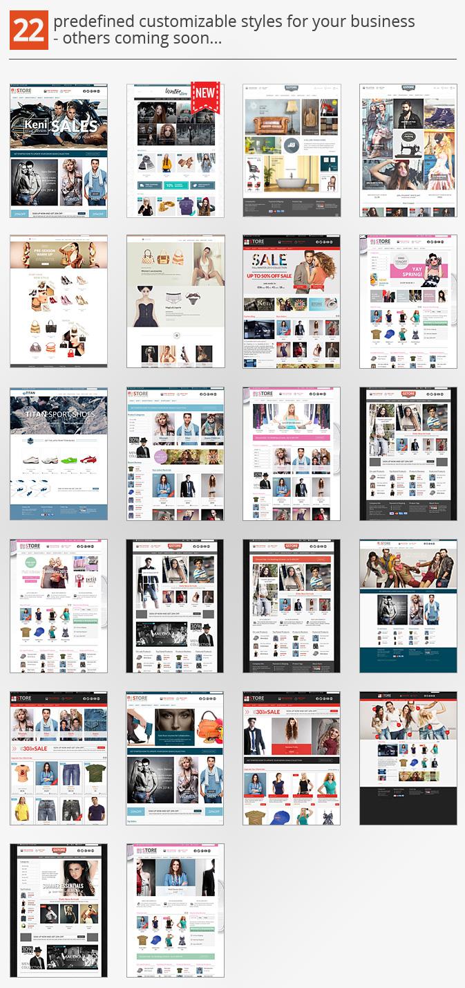 Theme wordpress bán hàng thời trang GoodStore