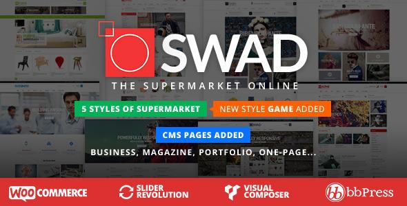 Theme wordpress bán hàng thời trang Oswad