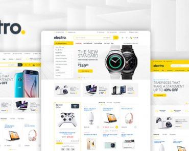 Electro – Giao diện Wordpress cho website cửa hàng điện máy, điện tử (8210)