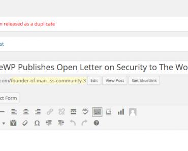Tránh trùng lặp tiêu đề khi post bài trong Wordpress (8418)