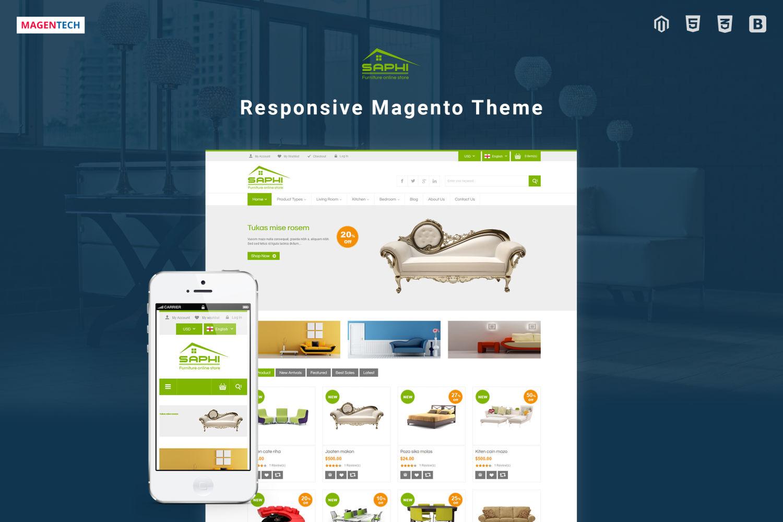 Share miễn phí Saphi - Theme Magento bán nội thất đẹp