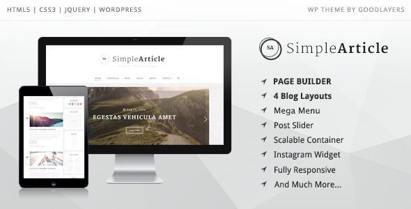 Chia sẻ theme wordpress miễn phí hàng tháng từ Themeforest