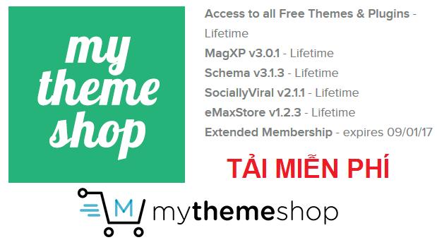 Theme Wordpress miễn phí từ MyThemeShop