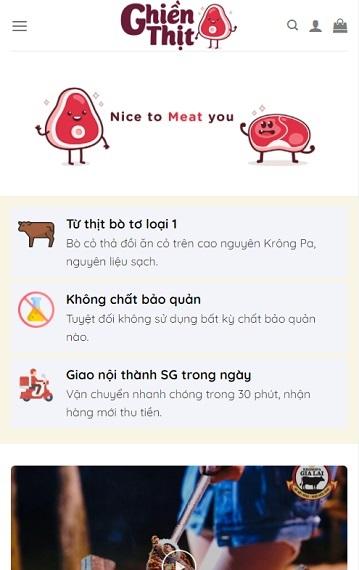 Bán nắng bò một nắng muối kiến vàng Krongpa - GhienThit.com