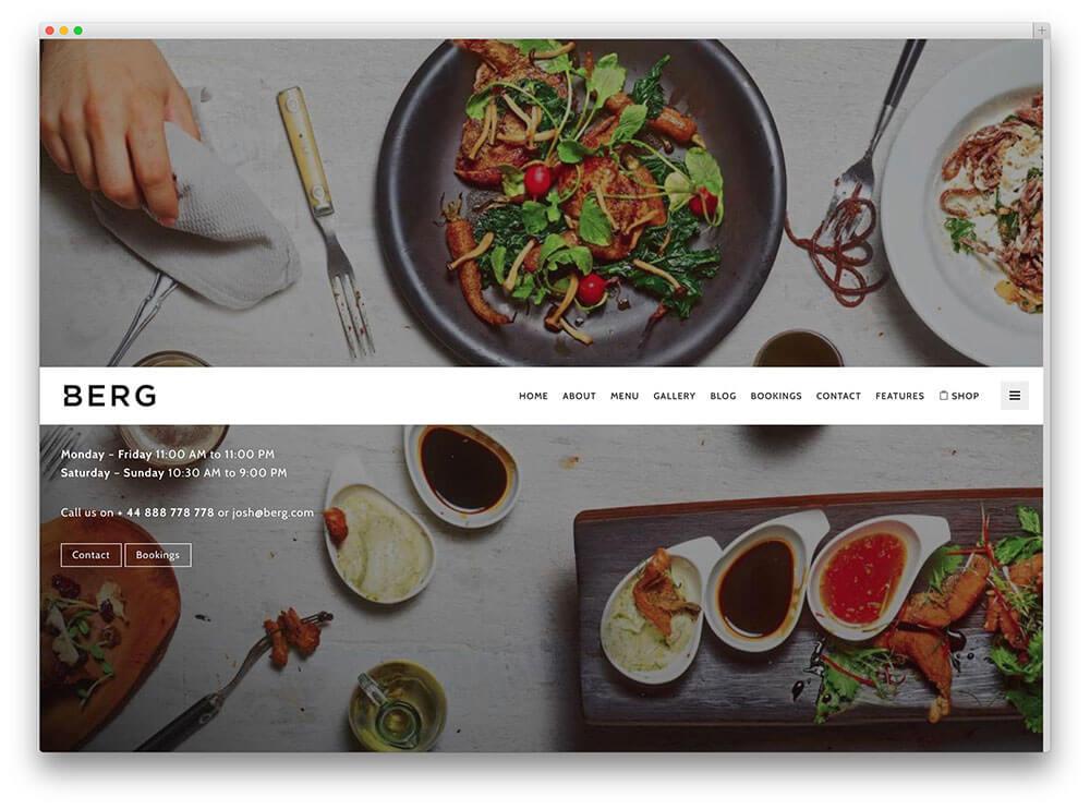 Top 10 Theme WordPress nhà hàng đẹp, tối ưu nhất hiện nay